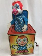 Vintage Mattel Clown Jack in the Box