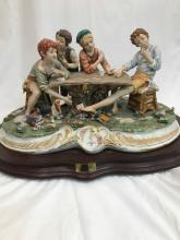 Capodimonte Porcelain Statue by Cortese,