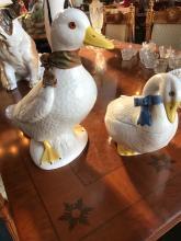 Pair of Porcelain Ducks