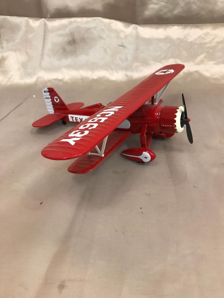 Texaco 14 Cast Iron Airplane Bank