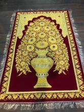 Magnificent 24k Gemstone Tree of Life Tapestry