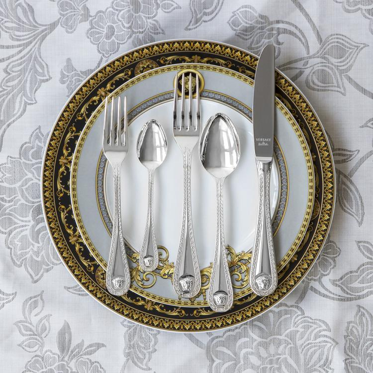 36 Piece Silver Rosenthal Versace Cutlery Set
