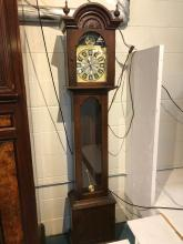 Grandfather Clock w/ Pendulum and Key