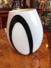 Abstract Italian Glass Vase