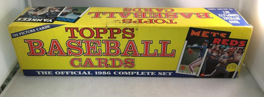 1986 Topps Baseball Factory Set Sealed Holiday Rare Set