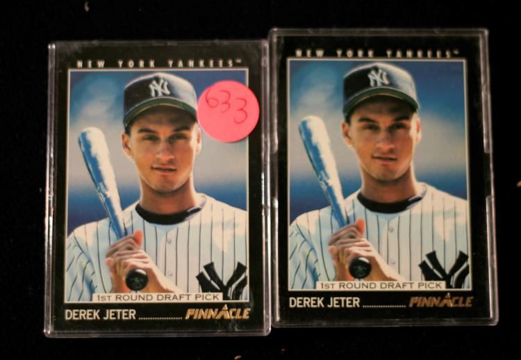 Derek Jeter 1993 Pinnacle 1st Round Draft Pick Rookie Baseba