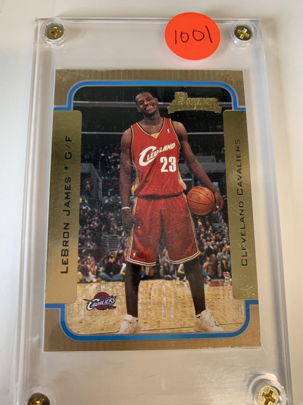 Sold Price 2003 04 Bowman Rookies Lebron James Rookie Card In High Grade Invalid Date Edt