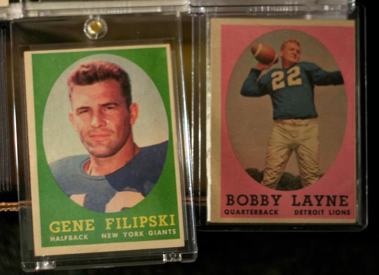 1958 Topps Football Complete Set Wjim Brown Rookie Card S