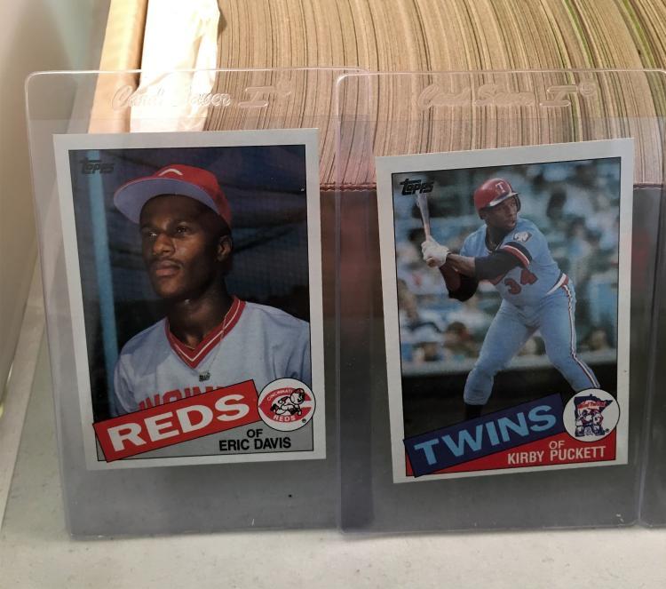 1985 Topps Baseball Complete Set Wmark Mcgwire Roger Cleme