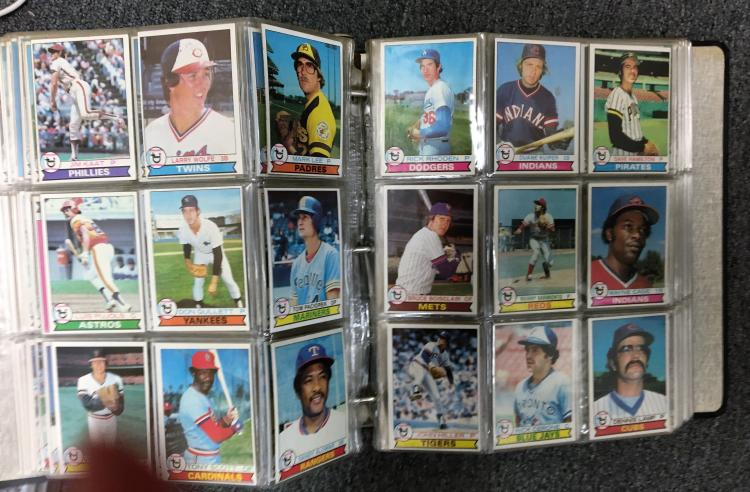 1979 Topps Baseball Complete Set Wozzie Smith Rookie