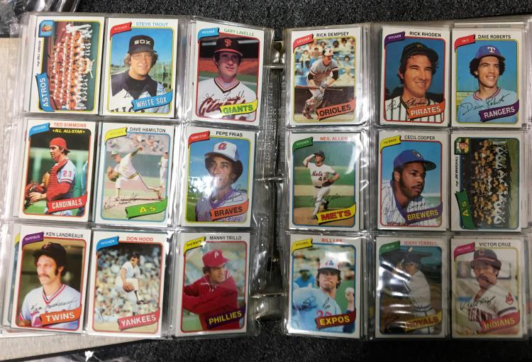 1980 Topps Baseball Complete Set Wrickey Henderson Rookie C
