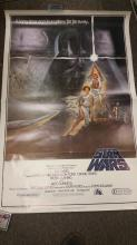 Star Wars original & authentic Movie Poster - series A