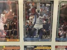Uncut Basketball sheets w/ Shaq RC