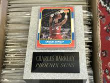 1986-87 Fleer Charles Barkley Rookie card w/Granite holder!