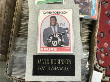 1989-90 Hoops David Robinson Rookie card w/Granite holder!