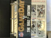 1992 Gameday Complete set in Binder - MINT!