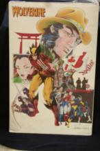 Wolverine with X-men Poster