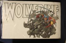 Wolverine Fighting Ninjas Poster