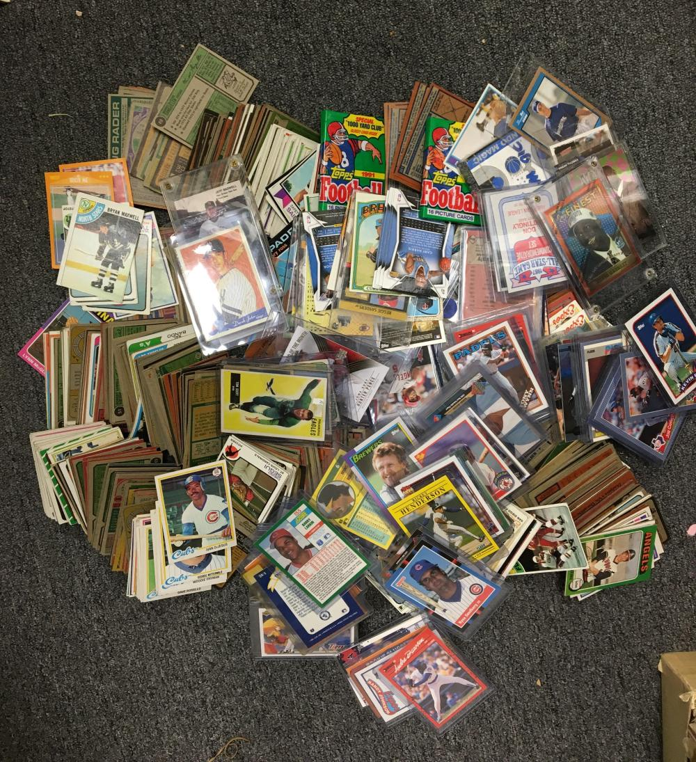 Huge Lot Of 5000 Baseball Cards From 1960s To 1980s Wsta