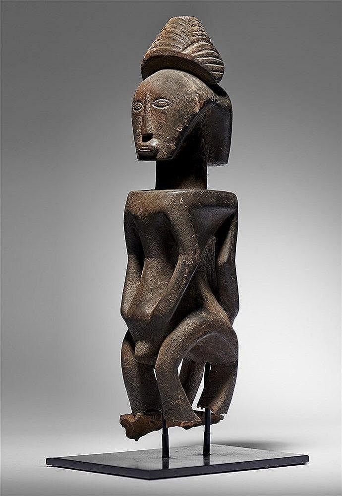 Luba/Hemba Janus Figure