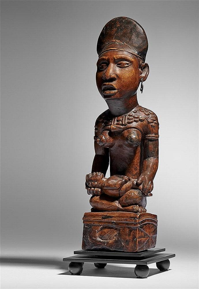 Kongo Maternity Figure