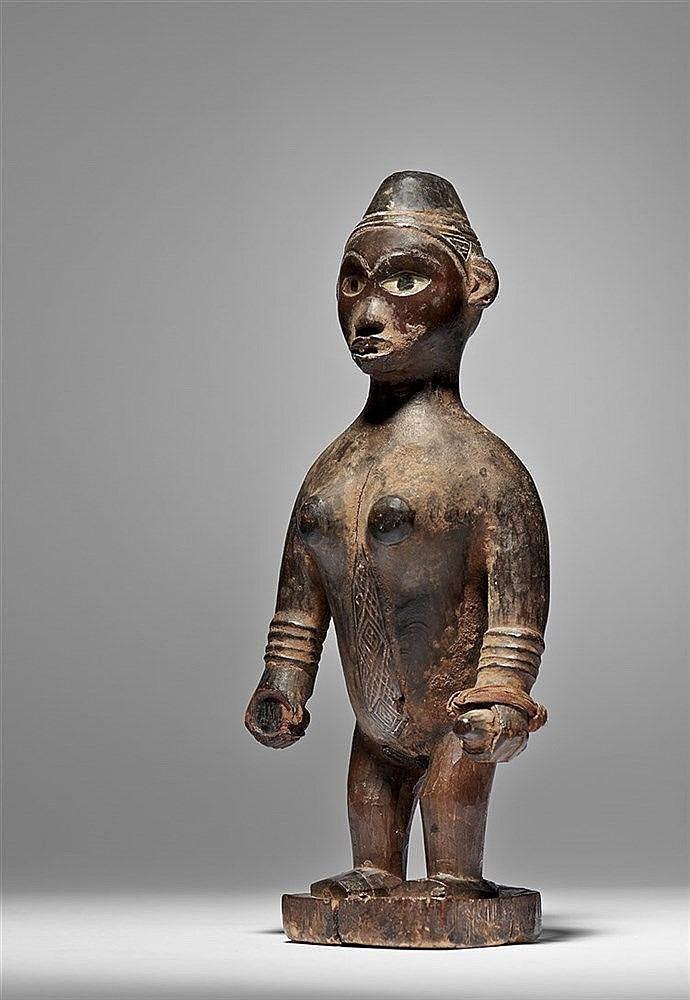 Yombe Female Figure