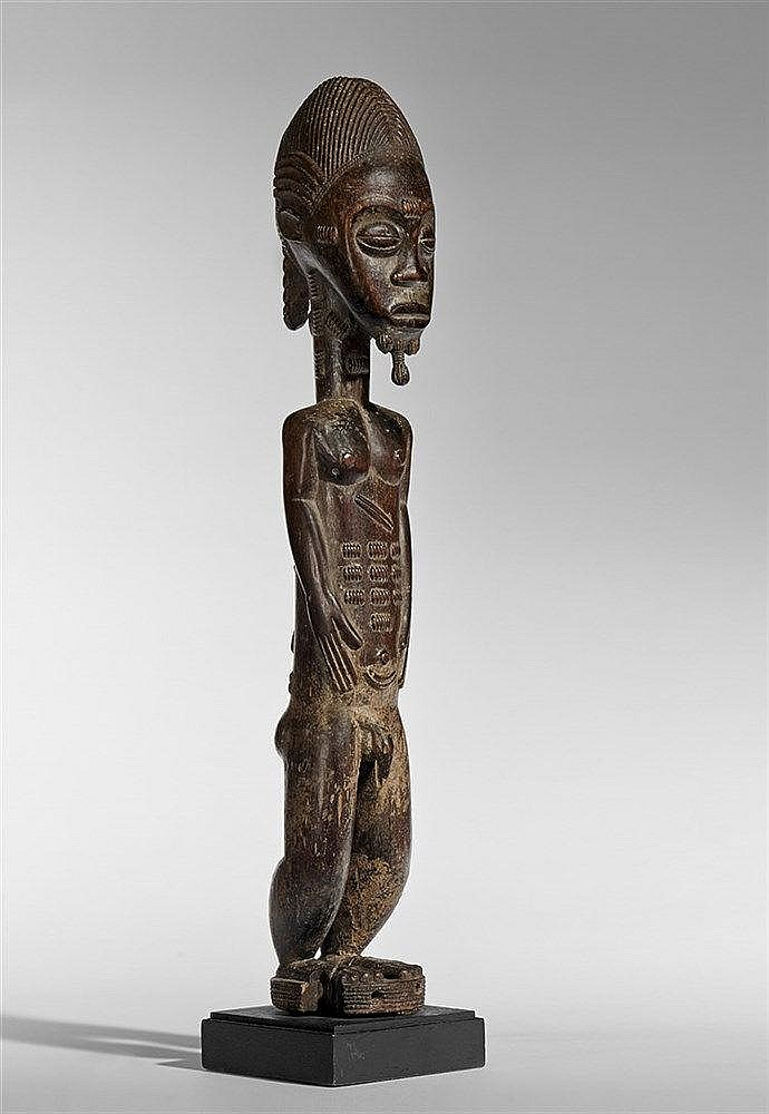 Baule Spirit Spouse Figure