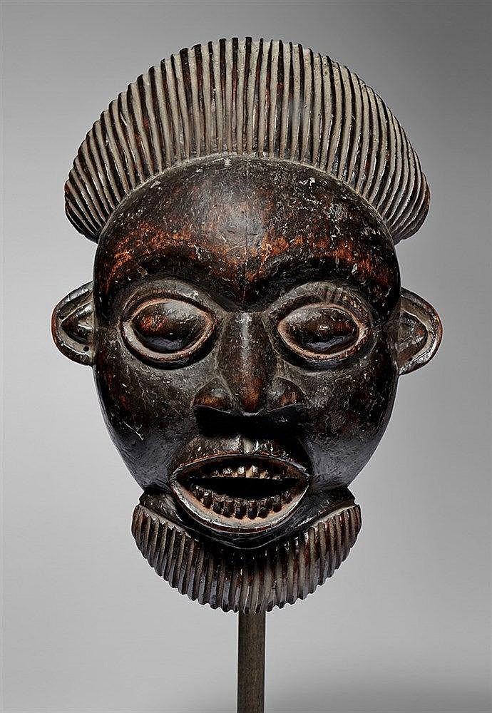 Bamileke Male Mask