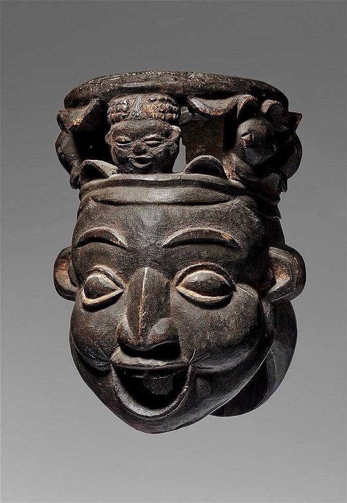 Bamileke Janus Mask