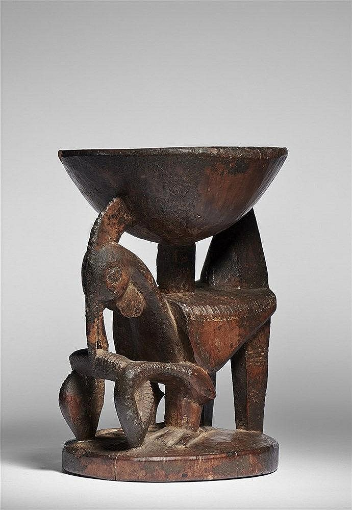 Yoruba Ifa Divination Bowl