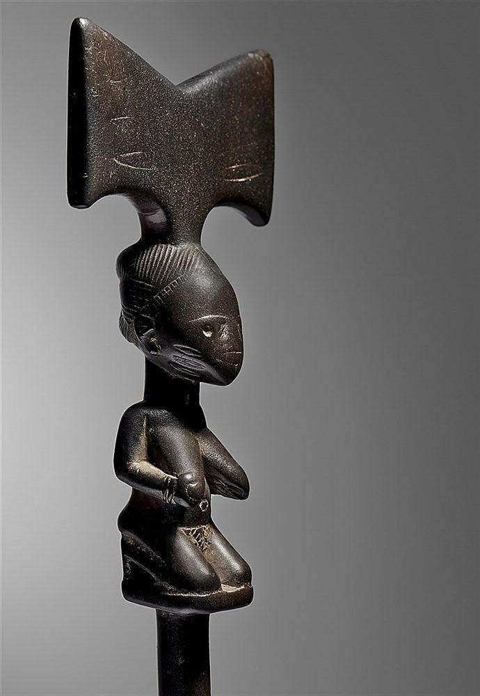 Yoruba Sango Staff