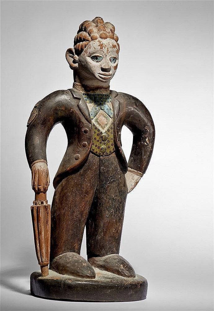 Yoruba Barrister Figure