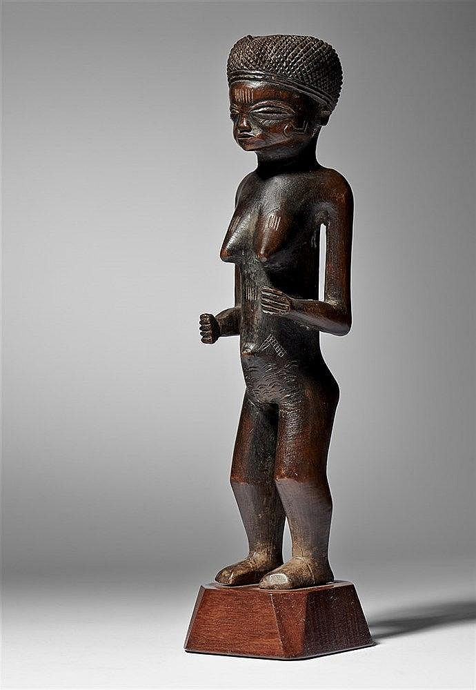 Lwena Female Figure