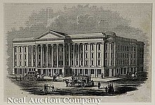 Engraving of the St. Charles Hotel