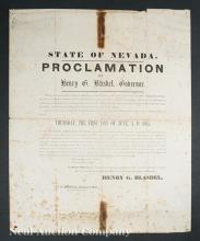 Lincoln Mourning Proclamtion