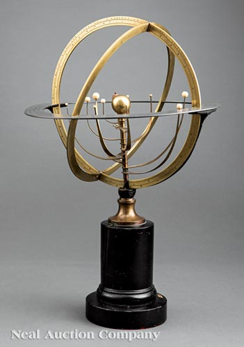 Empire Brass Copernican Armillary Sphere