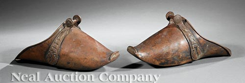 Pair of Spanish Colonial Riding Stirrups