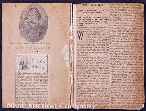 Confederate States Post Master Booklet