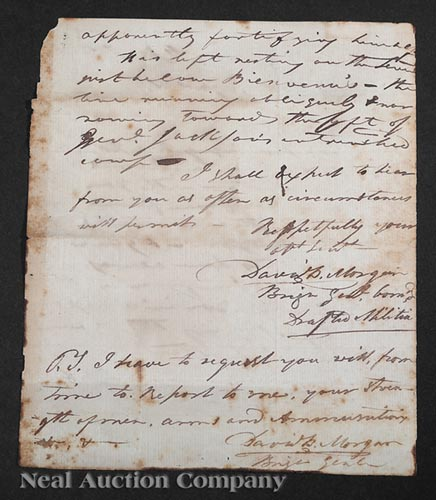 [Civil War], printed document