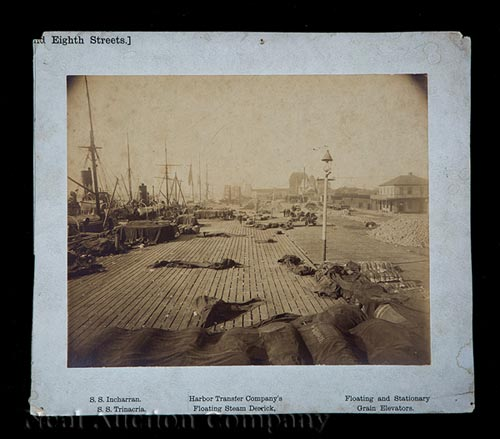 3 Photographs of New Orleans Dock Scenes