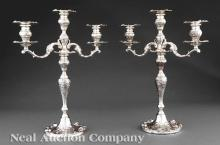 Sterling Silver Candelabra, Frank Whiting