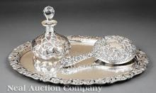 Austro-Hungarian .800 Silver Tray