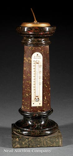 William IV Sundial and Thermometer