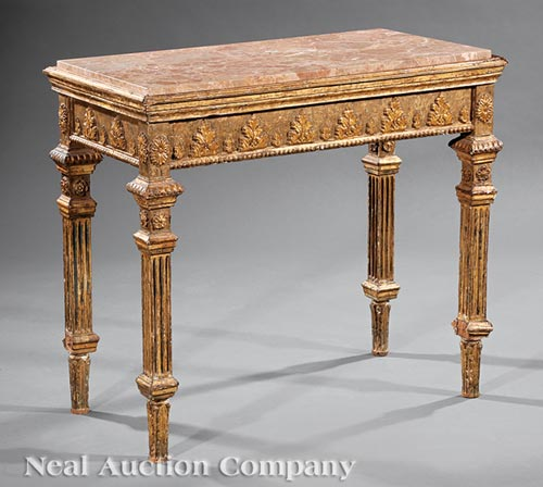 Continental Neoclassical Console