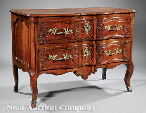 Louis XV Fruitwood Commode