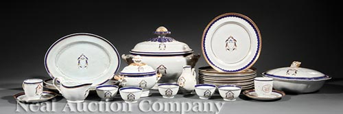Chinese Export Partial Dinner Service