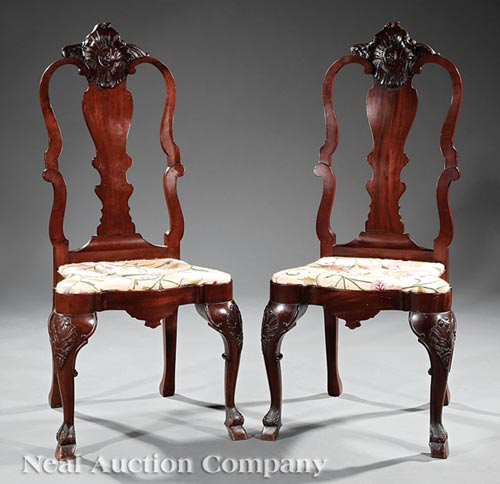 Pair of Portuguese Side Chairs