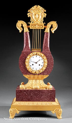 Louis XVI Mantel Clock
