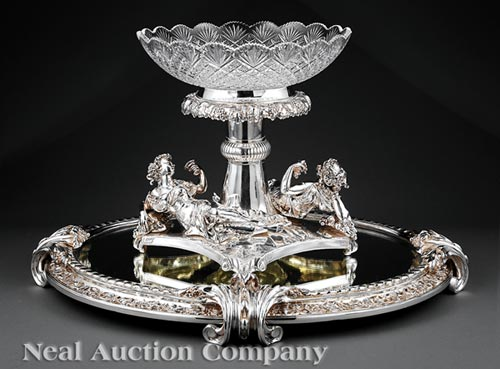 Silverplate Centerpiece