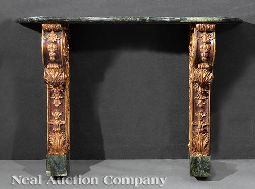 Pair of Neoclassical-Style Consoles